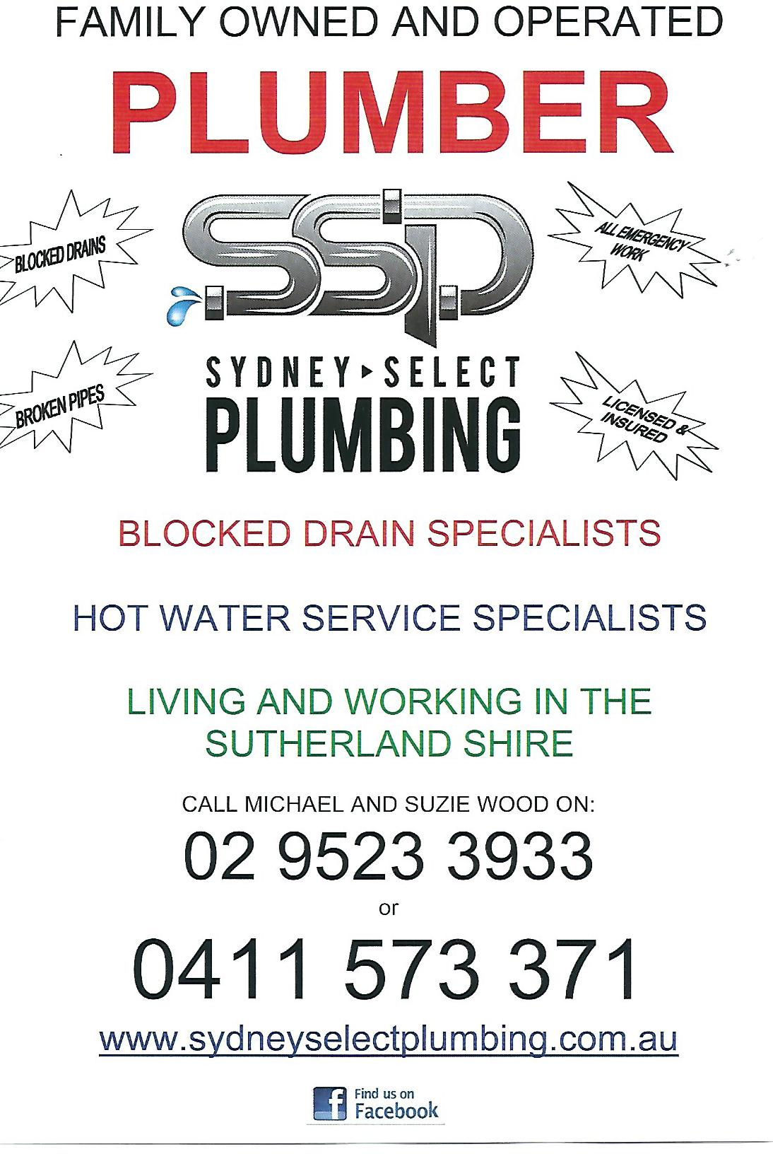 Example Mailbox drop from a Sutherland Shire Plumber
