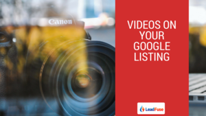Benefits of adding videos to your Google listing