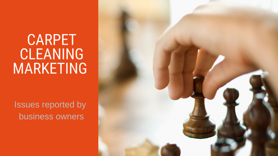 Carpet Cleaning Marketing - Chess Piece