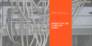 cables and network with words Should You Use A PBN for links