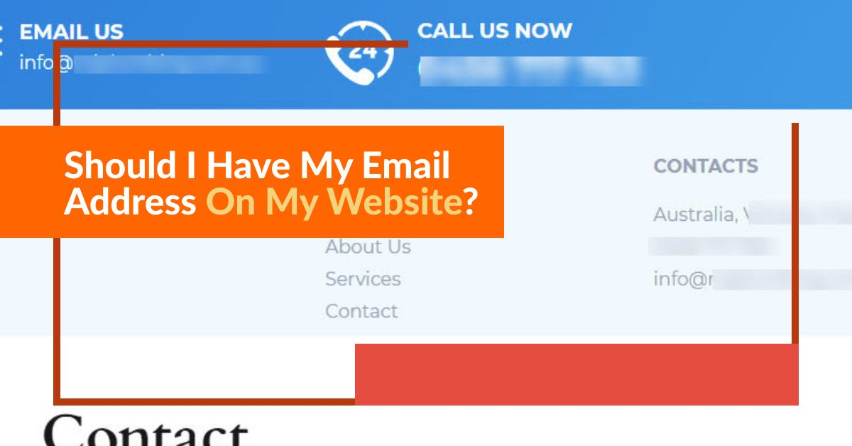 examples of email addresses on websites